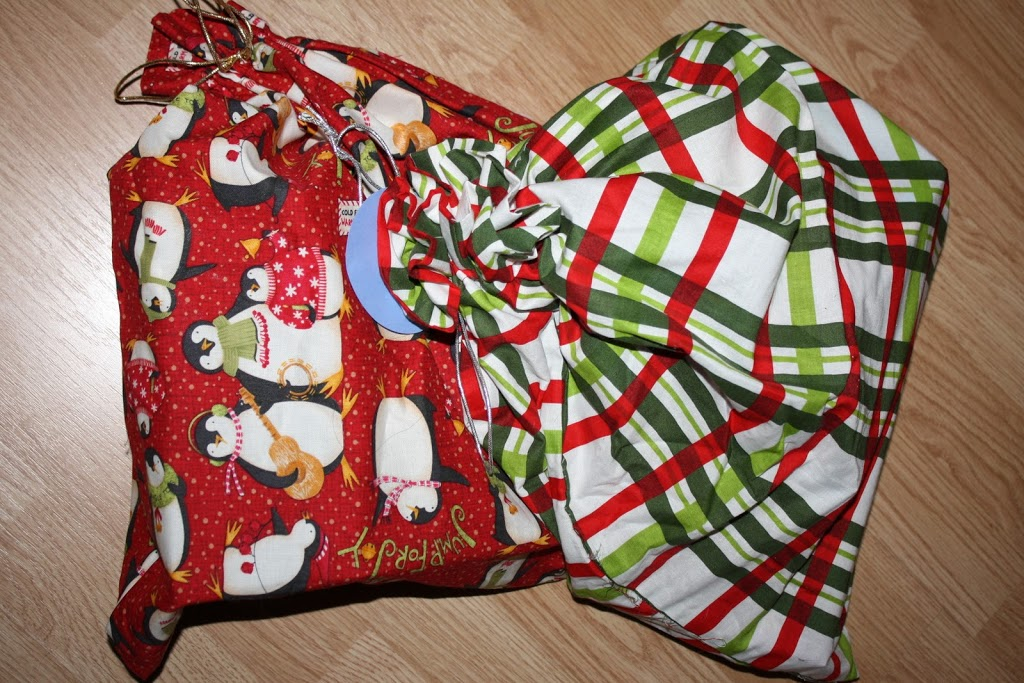 Tutorial reusable gift wrap sew sweetness