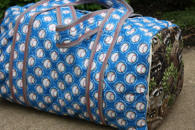Quilted Duffle Bag Sew Sweetness