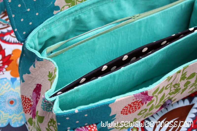 Amy Butler Blossom Bag Sew Sweetness
