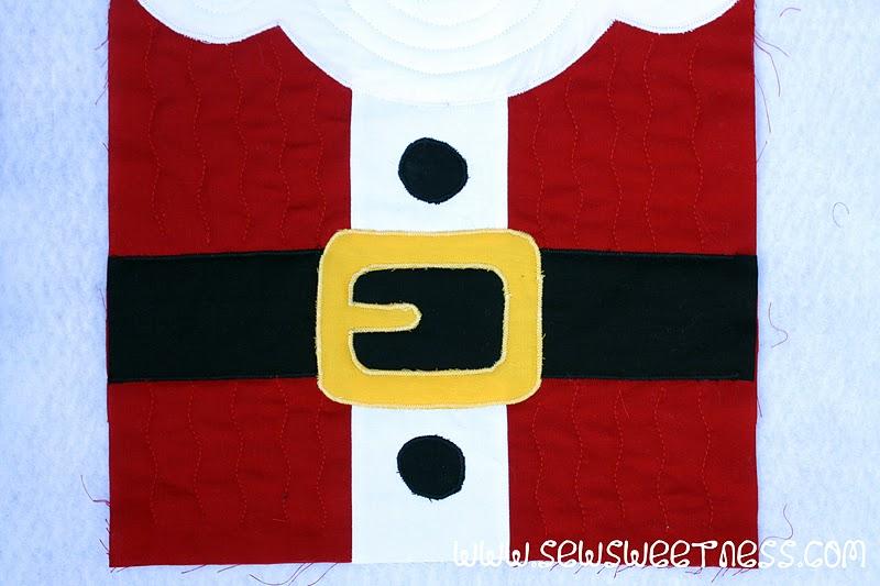 12 Days Of Christmas Block 2 Santa Claus Sew Sweetness