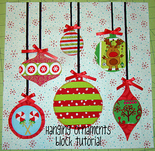 12 Days Of Christmas Block 9 Ornaments Sew Sweetness