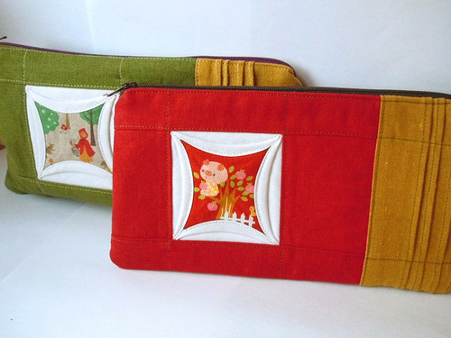 Cathedral Zip Pouch