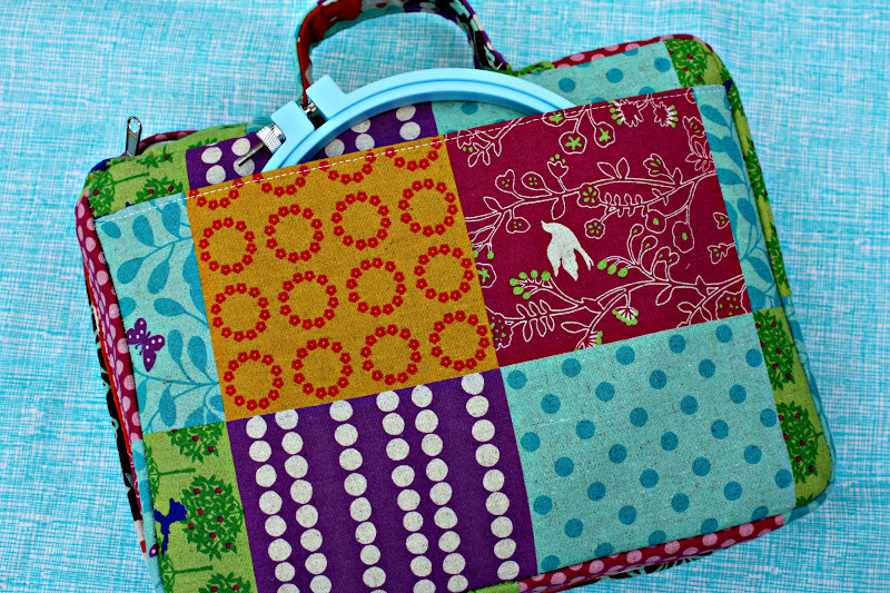 Book Cover Sewing Kits : Tutorial embroidery to go bag sew sweetness