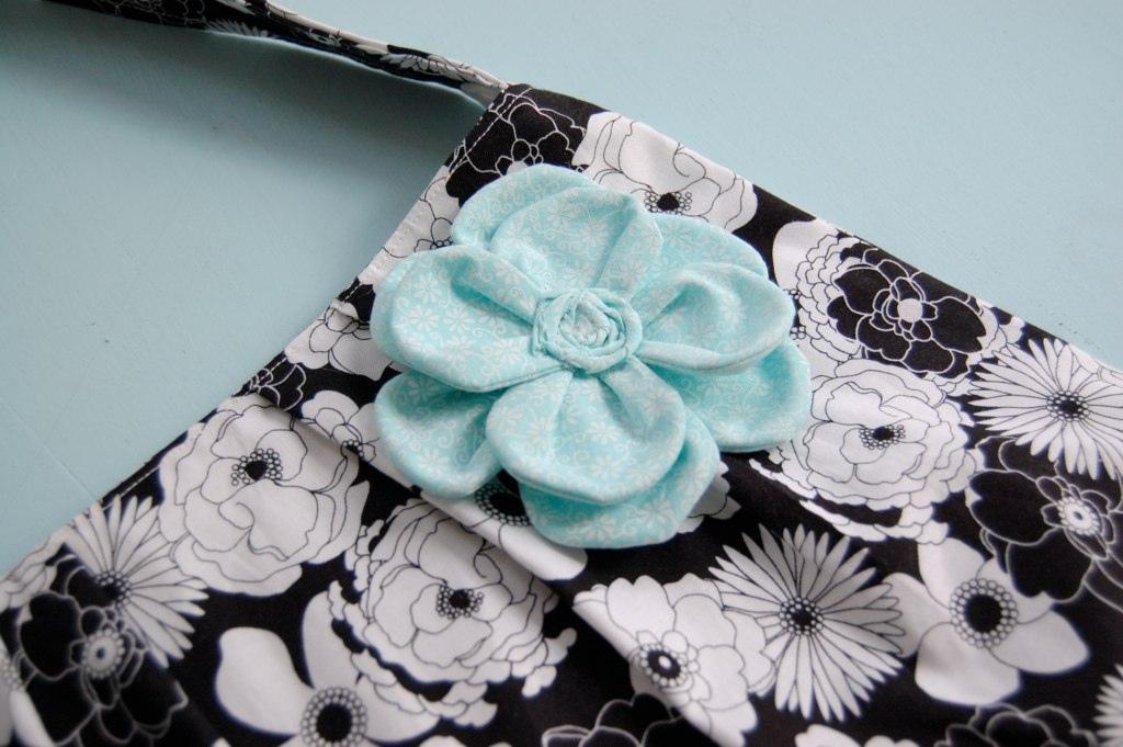 cutest fabric flower EVER.