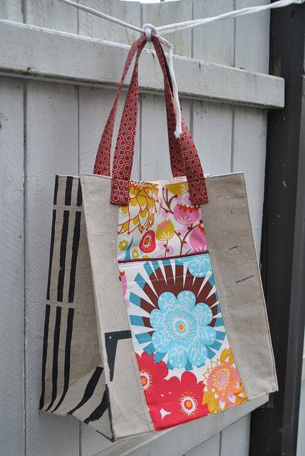 Back View: Jane Market Bag