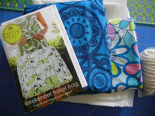 Purse Palooza Pattern Review Amy Butler Weekender Bag Sew