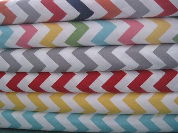 Riley Blake Fabric Bundle Chevron-Yard Bundle
