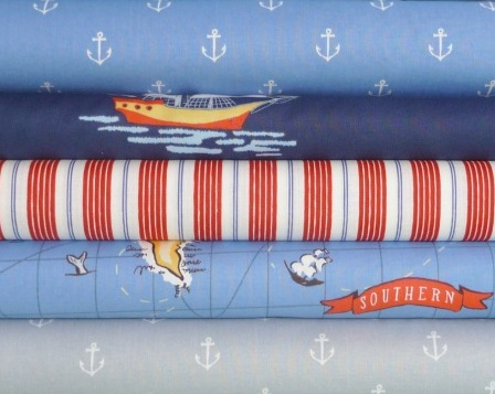 Ahoy There Fat Quarter Bundle, $13.75