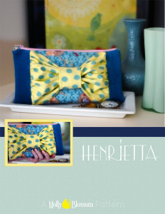 Henrietta Zip Pouch Pattern (pdf)