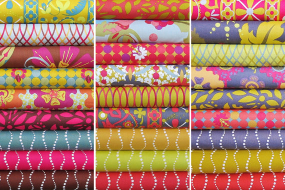 Lucky Penny Half Yard Bundle - Alison Glass - Entire Collection - 27 Half Yards - Free Shipping US