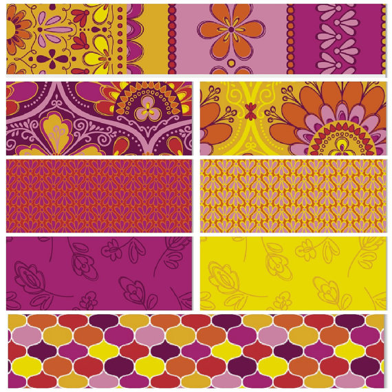 SALE - NEW LEAF by Daisy Janie - Half Yard Bundle - Entire Collection