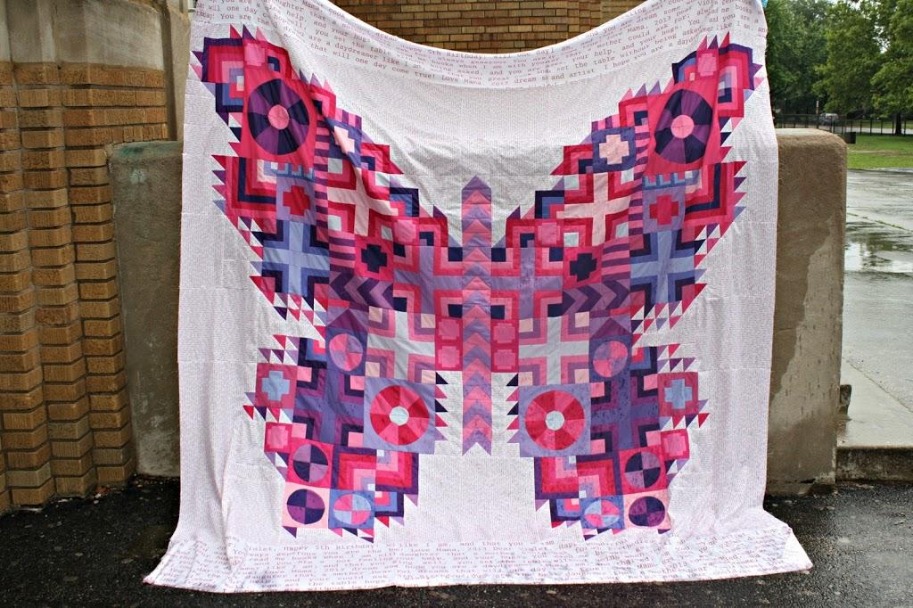 Tula Pink Butterfly Quilt - Sew Sweetness : butterfly quilt designs - Adamdwight.com