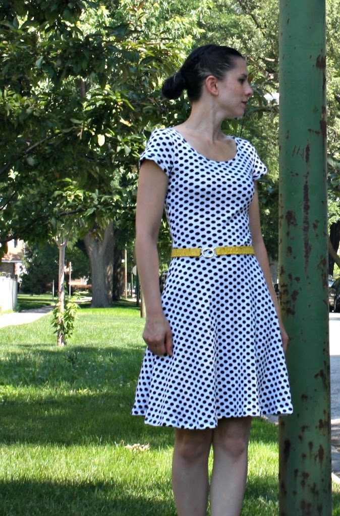Lady Skater Dress Sew Sweetness