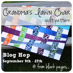 Grandma's Lawn Chair Blog Hop @ from blank pages...