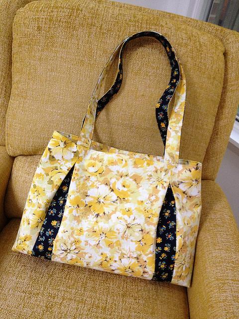 Purse Palooza Pattern Review Pleated Beauty Handbag