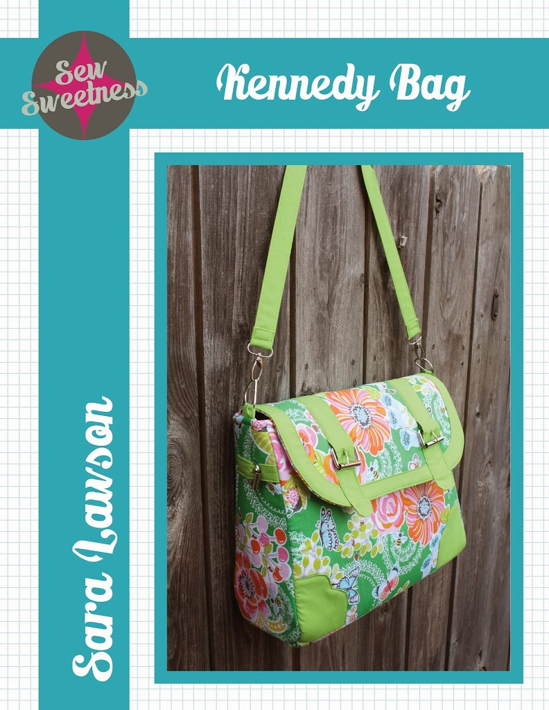 Free Bag Pattern - The Kennedy Bag - Sew Sweetness