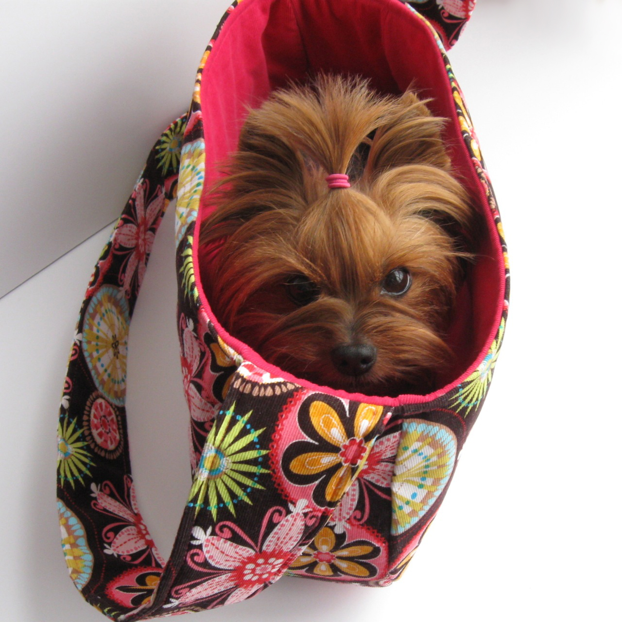 Purse palooza giveaway dog under my desk sew sweetness - Pattern for dog carrier sling ...