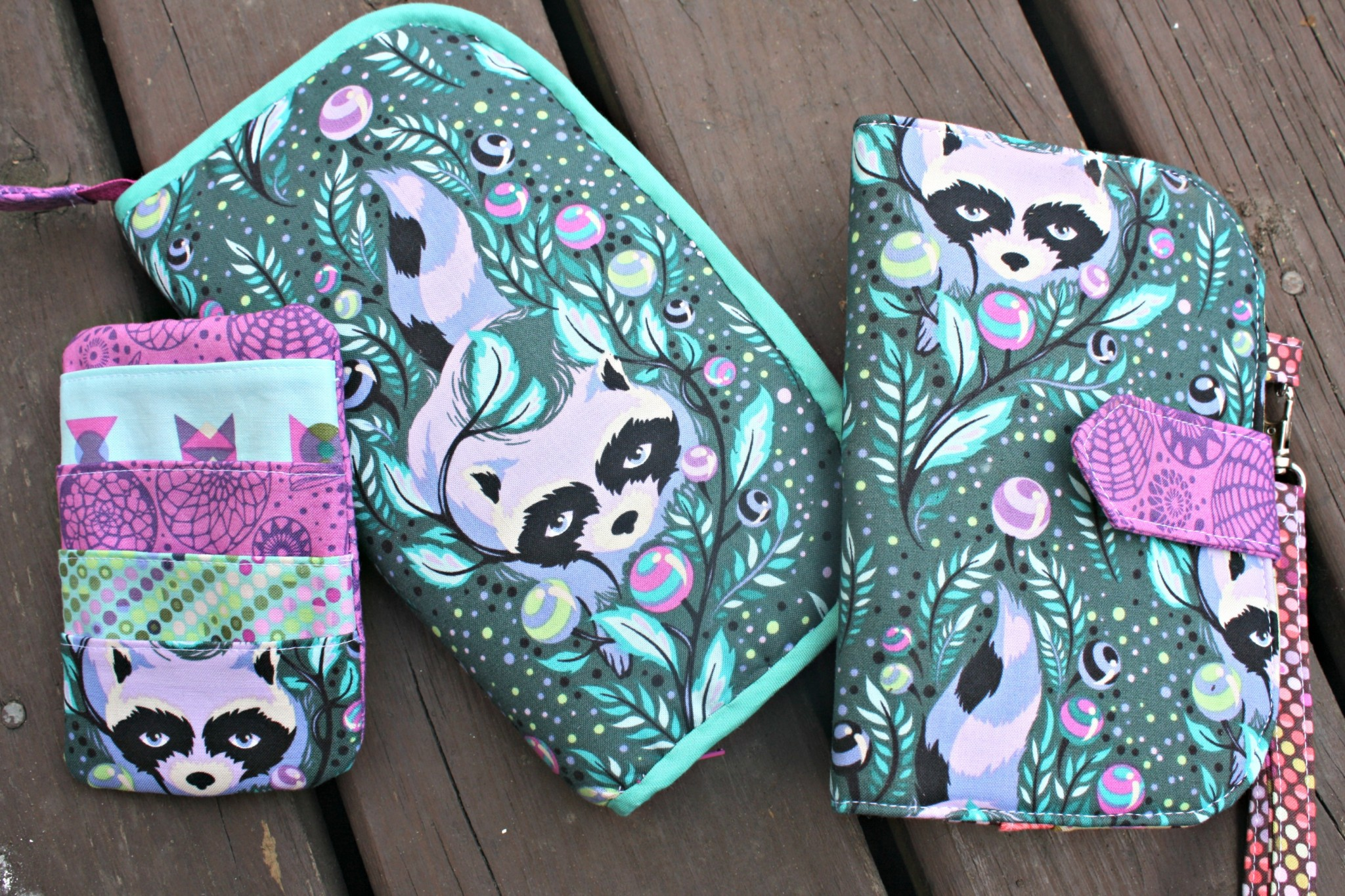 Greenbacks Wallet Trio Sew Sweetness