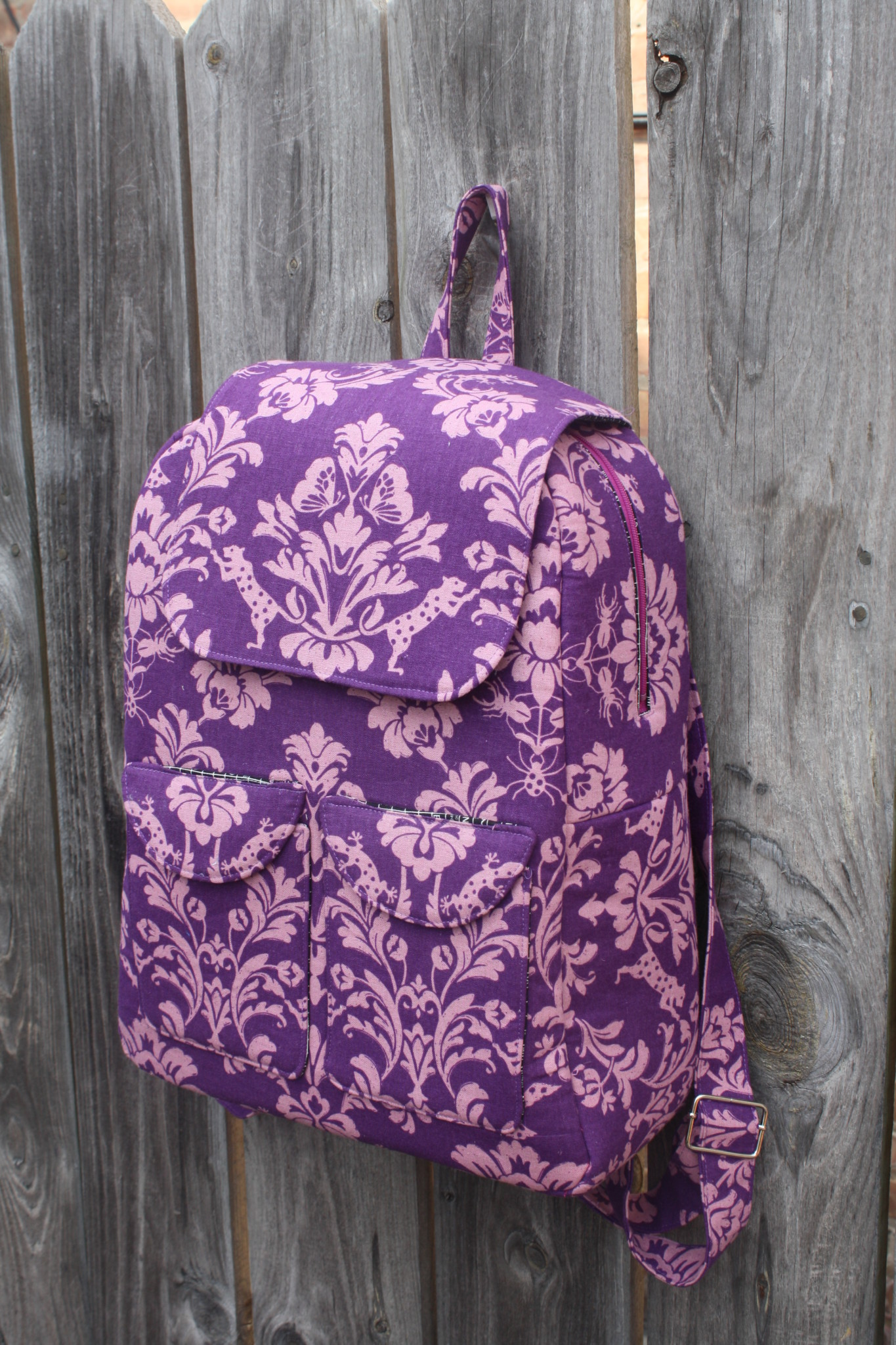 Bag At You Fashion Blog Hip E Bags White Backpack: Edelweiss Bag Pattern