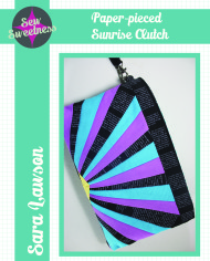 Paper-pieced Sunrise Clutch-page-0