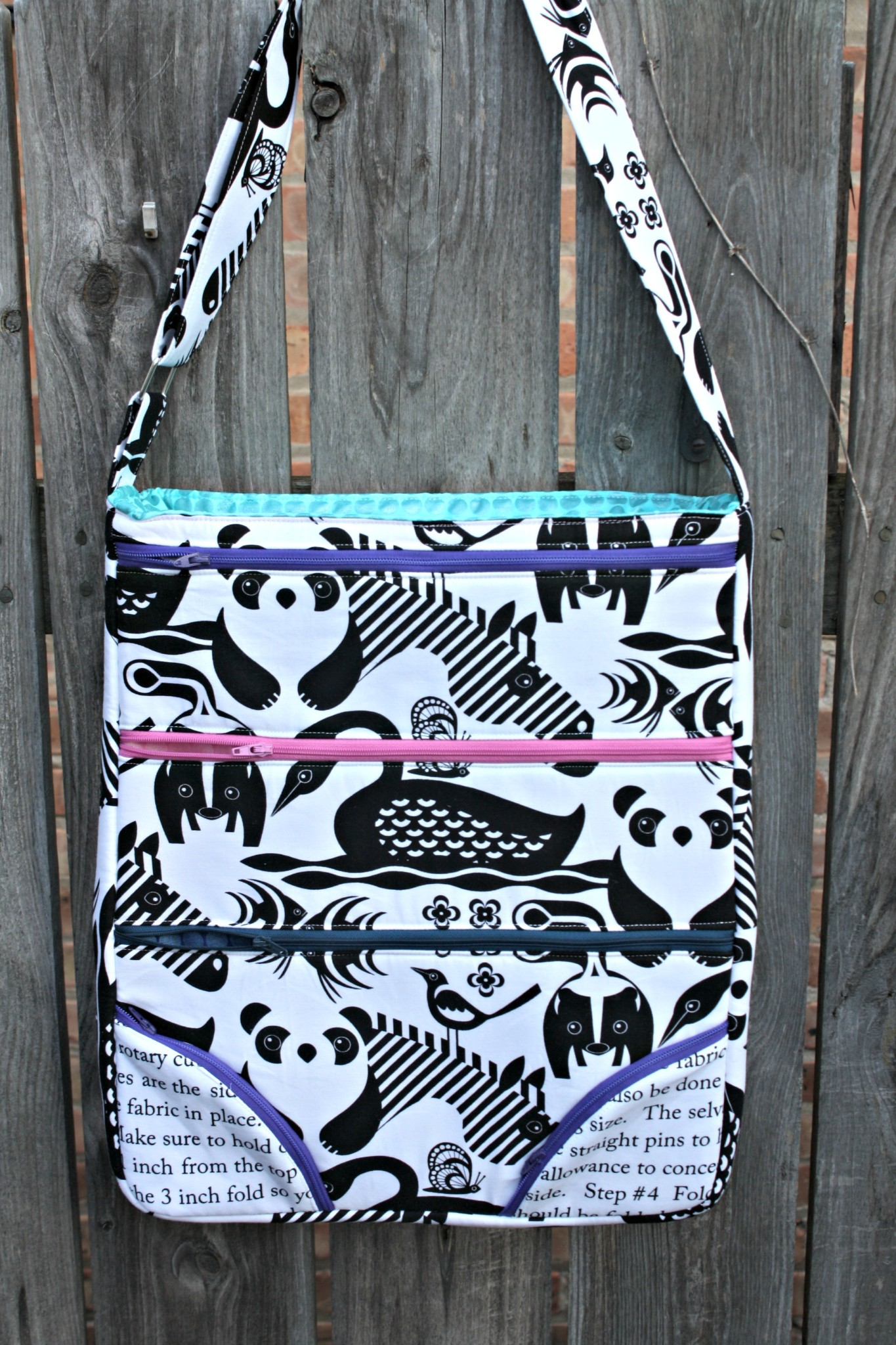 Cross Body Bag Pattern Unique Decoration