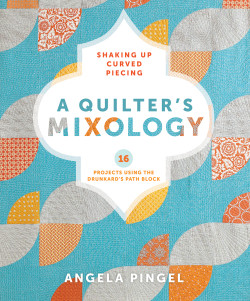 A Quilter's Mixology - jacket art