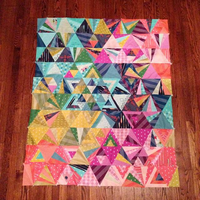 Tessellation Sew Along Winners! - Sew Sweetness : tessellation quilt - Adamdwight.com