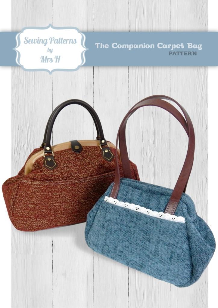 January S Pattern The Companion Carpet Bag Sew Sweetness