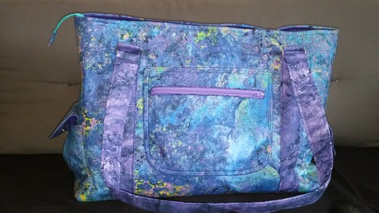 Sew Sweetness Sloan Travel Bag by Jessy of Auntie Matter