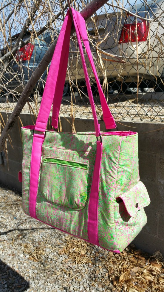 Sew Sweetness Sloan Travel Bag by Audrey