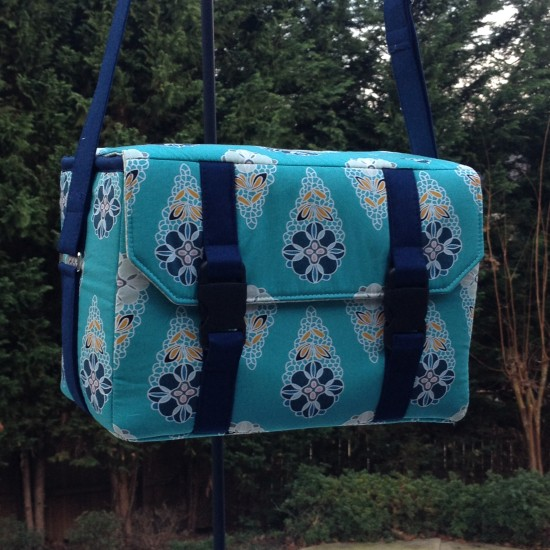 Sew Sweetness Ansel Camera Bag by Terry in Fantasia fabrics