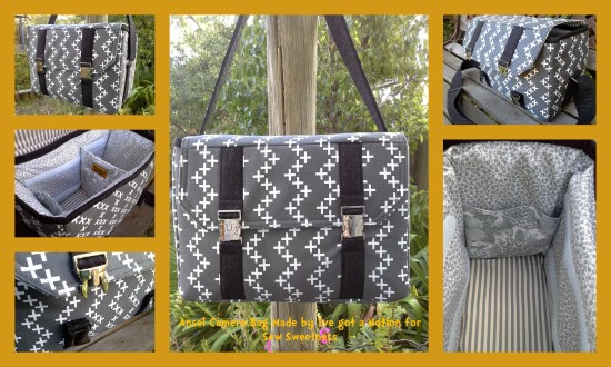 Sew Sweetness Ansel Camera Bag by Tracy of I've Got A Notion