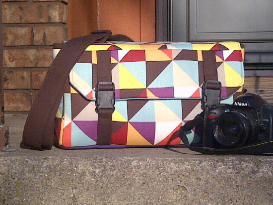 Sew Sweetness Ansel Camera Bag by Jennifer