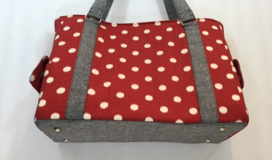 Sew Sweetness Sloan Travel Bag by Cindy of Raspberry Sunshine
