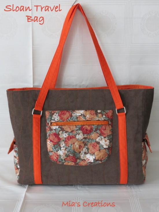 Sew Sweetness Sloan Travel Bag by Mia's Creations