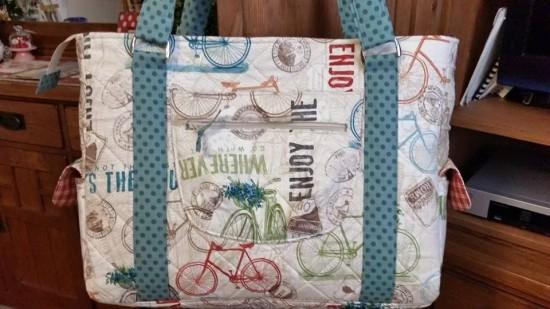 Sew Sweetness Sloan Travel Bag by Shannon