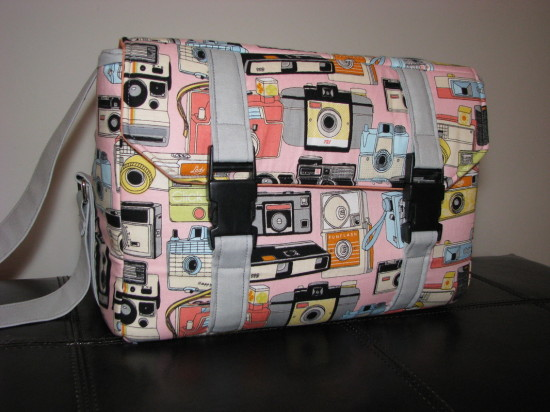 Sew Sweetness Ansel Camera Bag by Reece