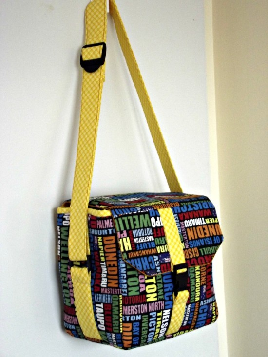 Sew Sweetness Ansel Camera Bag by Renuka