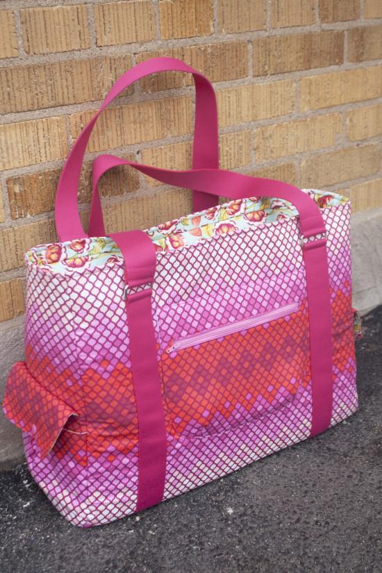 Sew Sweetness Sloan Travel Bag sewing pattern