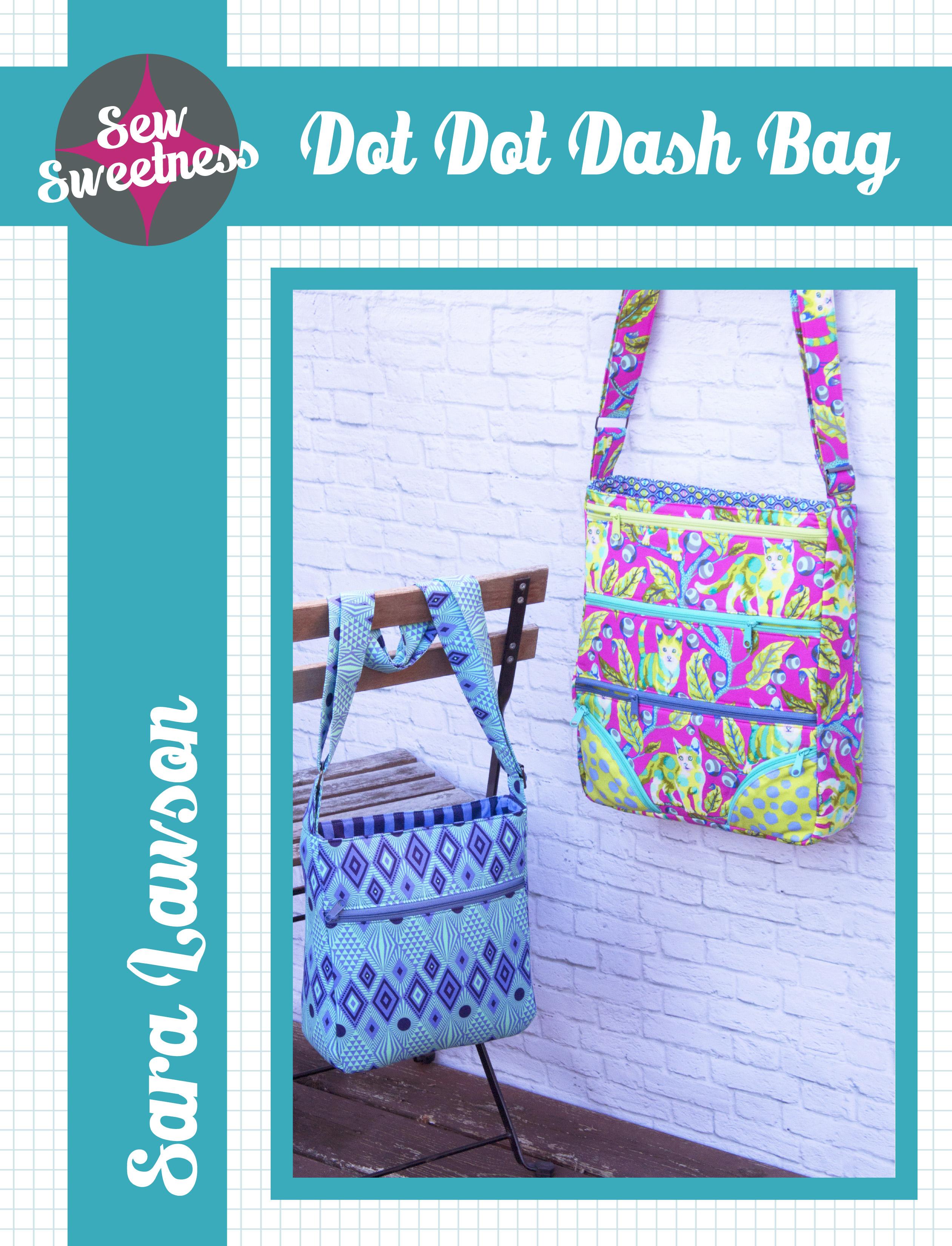 Sew Sweetness Dot Dot Dash sewing pattern