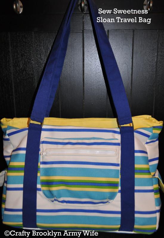 Sew Sweetness Travel Bag by Crafty Brooklyn Army Wife