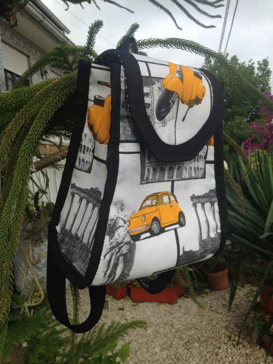 Sew Sweetness Promise Ring Backpack by Ana