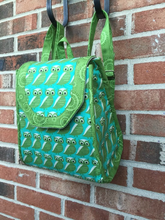 Sew Sweetness Promise Ring Backpack by Madelyn