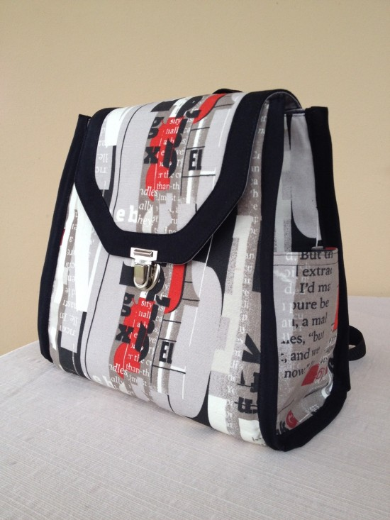 Sew Sweetness Promise Ring Backpack by Norma of Norma's Bag Boutique
