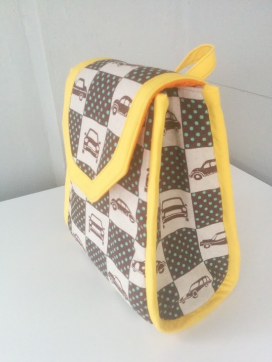 Sew Sweetness Promise Ring Backpack by Chloe Read