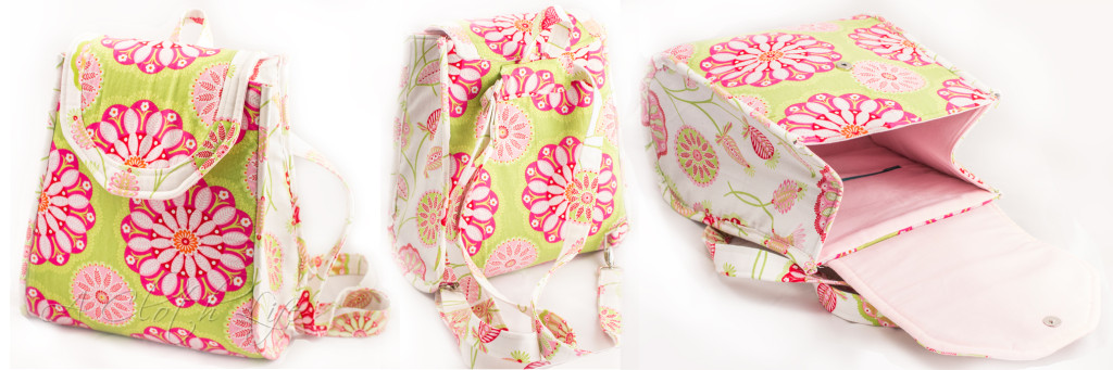 Sew Sweetness Promise Ring Backpack by A Cloth Life