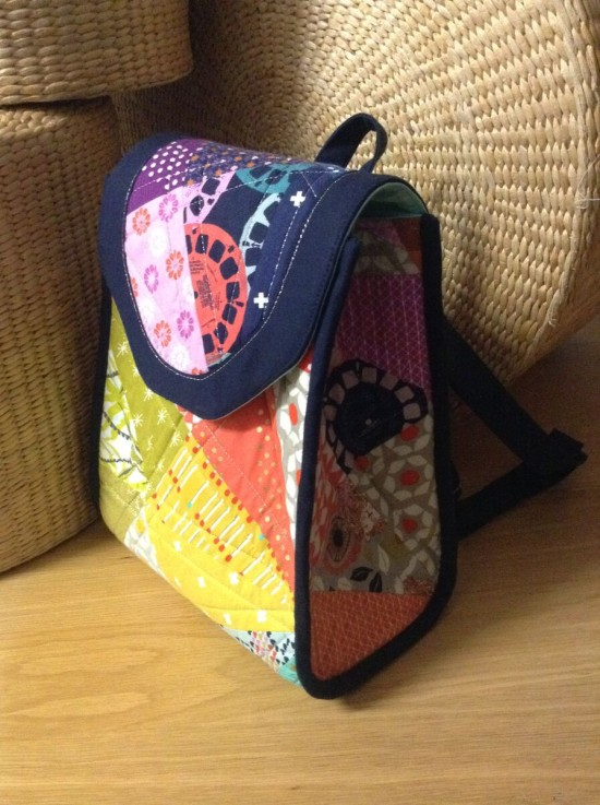 Sew Sweetness Promise Ring Backpack by Creative Chicky
