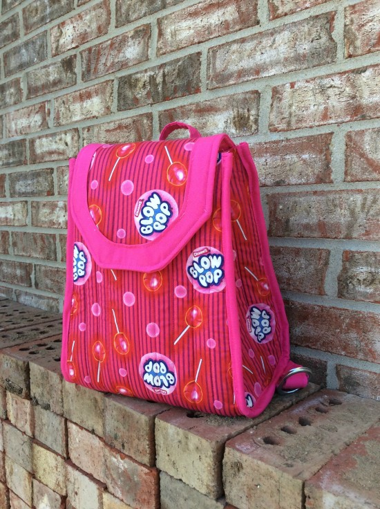 Sew Sweetness Promise Ring Backpack by Jackie