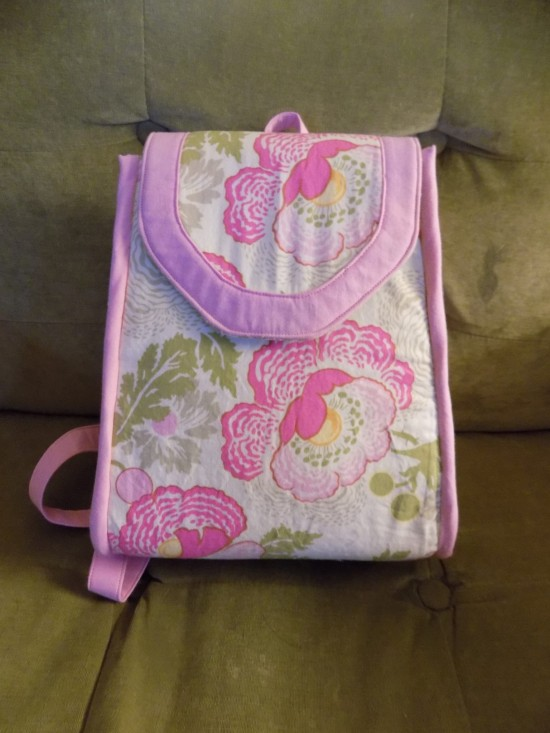Sew Sweetness Promise Ring Backpack by Paula