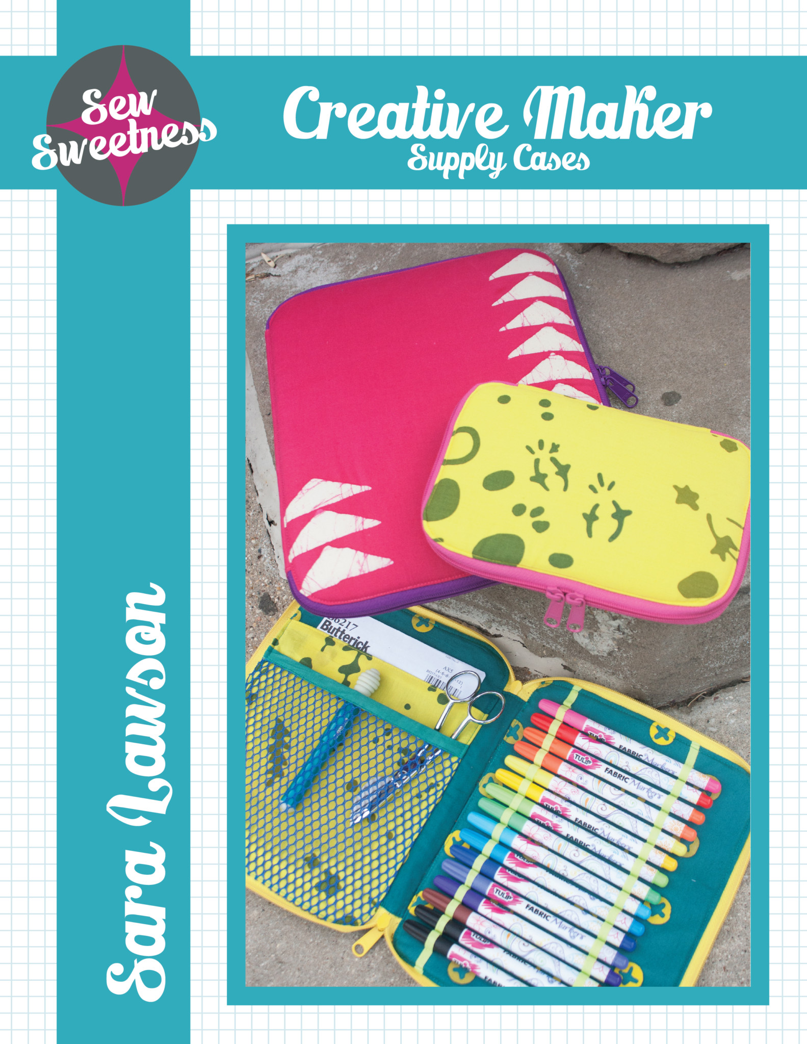 Sew Sweetness Creative Maker Supply Case sewing pattern